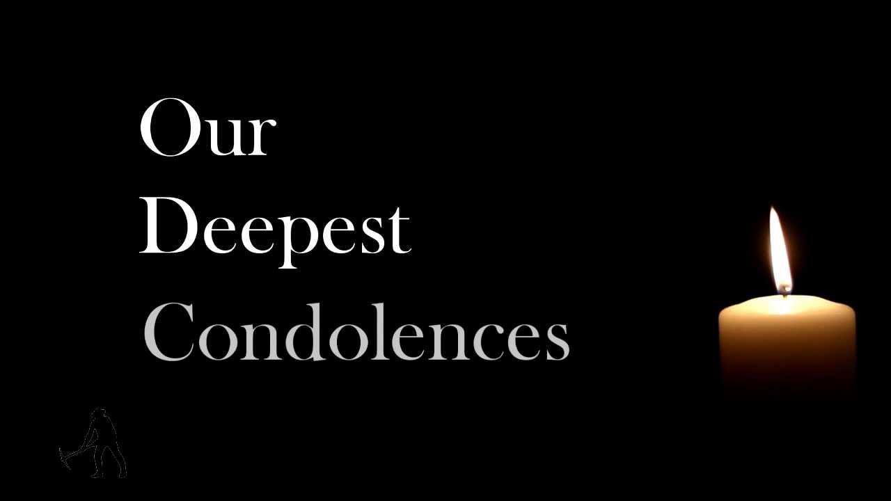 condolence message pax junior school