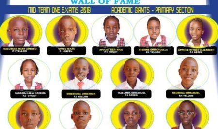 Mid Term 1 2019 Academic Giants (Primary)