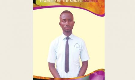 Teacher of the month March 2019